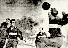 1935 год. Тренировка «Спартака»