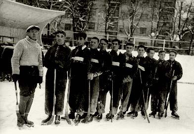 Хоккейный «Спартак» образца зимы - 1934/ 35