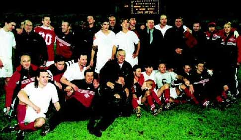 «Спартак» — первая команда четыре раза подряд выигравшая чемпионат страны