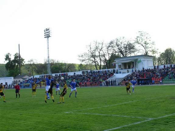 Стадион Дружба домашняя арена клуба второго дивизиона: зона - Юг ФК Дружба Майкоп.