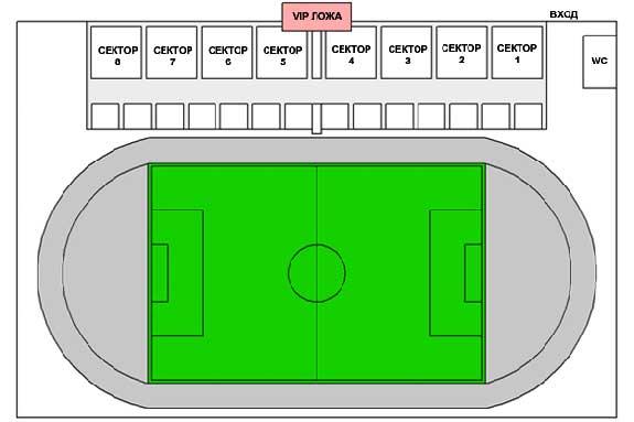 Предприятий города многоцелевой стадион в первом же сезоне клуб.